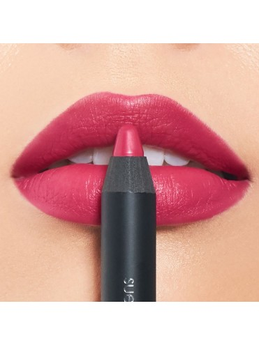 Suede lips overdressed